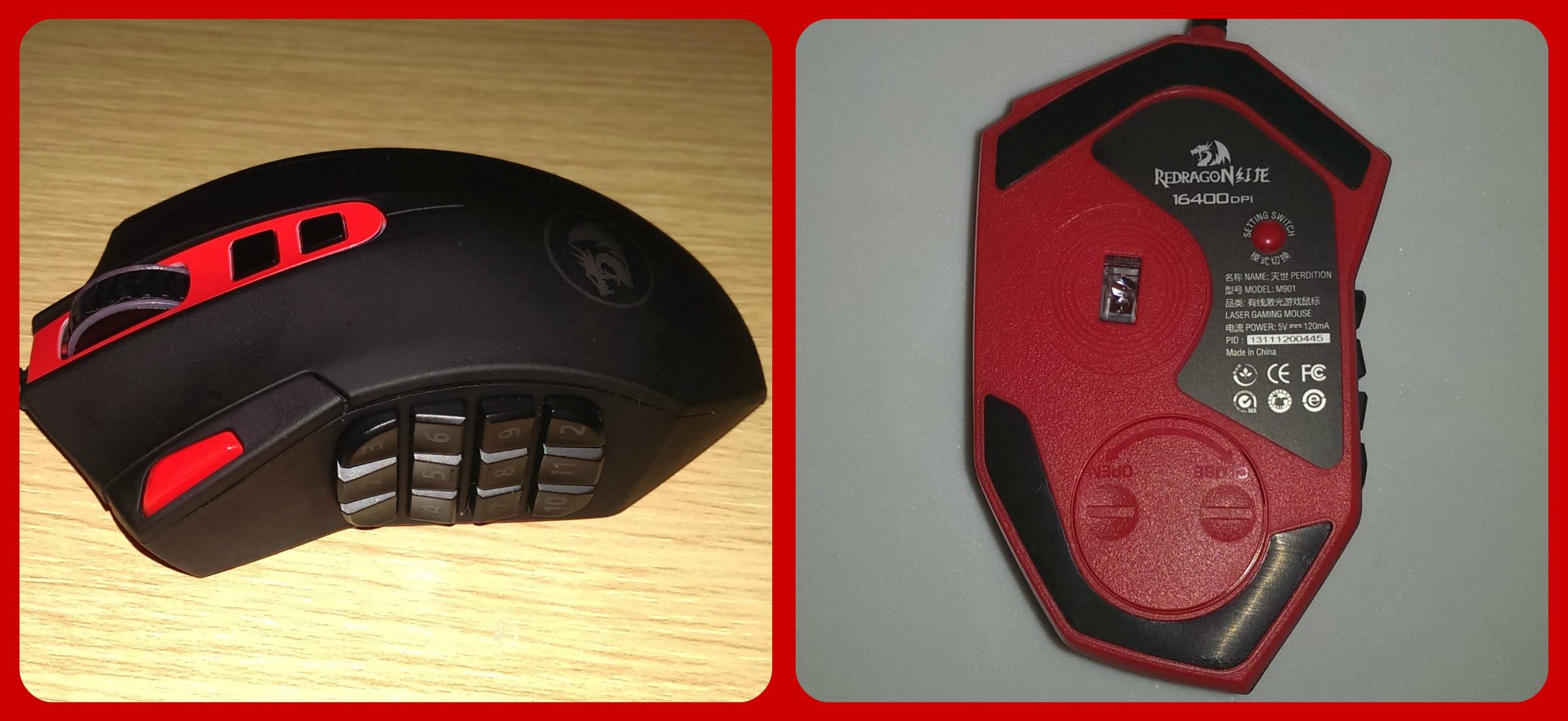 Tecknet Redragon Perdition 16400 Dpi Gaming Mouse Review Tootietazzy